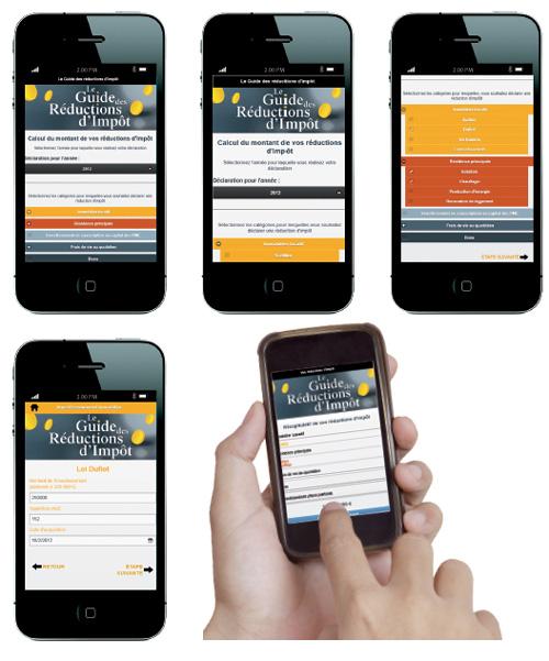 «Le Guide des Réductions d'Impôt» : une application mobile simple sur iPhone