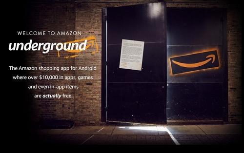 Amazon lance Underground : des applications « véritablement » gratuites pour Android