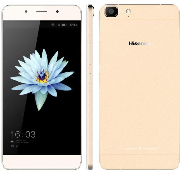 3 nouveaux smartphones chez Hisense