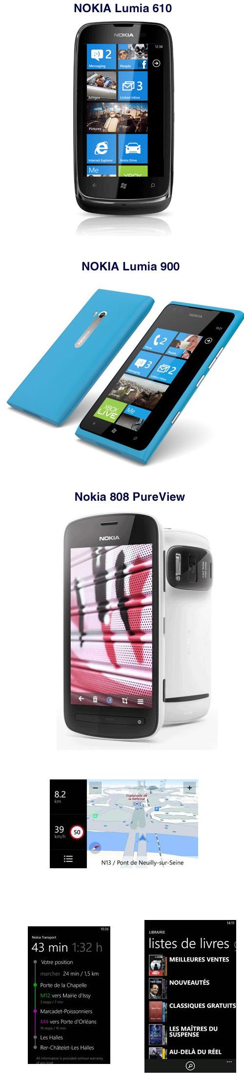 3 nouveaux smartphones Nokia arrivent en France