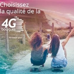 4G : Bouygues Telecom couvre 95% de la population française