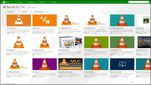 500 000 applications disponibles sur le Windows Store