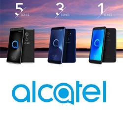 Alcatel présente au MWC 2018 ses nouvelles séries Alcatel 5, 3 et 1 au format 18:9