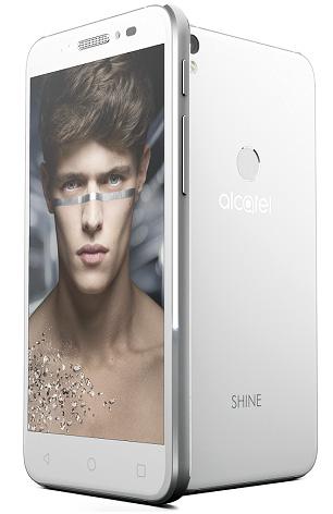 Alcatel Shine Lite, un smartphone entrée de gamme plutôt chic