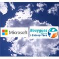 Alliance entre Bouygues Telecom et Microsoft  afin de propulser les PME françaises dans le Cloud