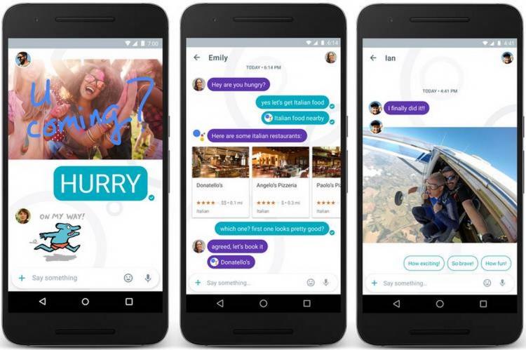 Allo: l'application de messagerie de Google a mis 8 mois pour apprendre le français