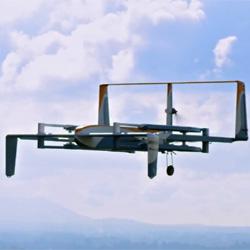 Le drone livreur de colis d'Amazon voit le jour