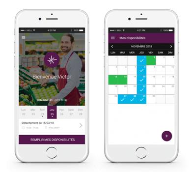 Andjaro, une application dédiée aux salariés qui souhaitent faire des heures complémentaires