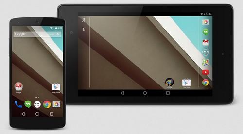 Android 5.0 : mise à jour disponible pour les Nexus