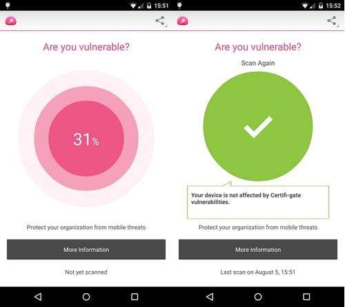 Certifi-gate  : de nouvelles failles découvertes sur Android