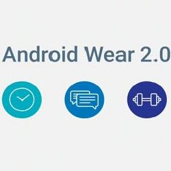 Les nouveautés Android Wear 2.0