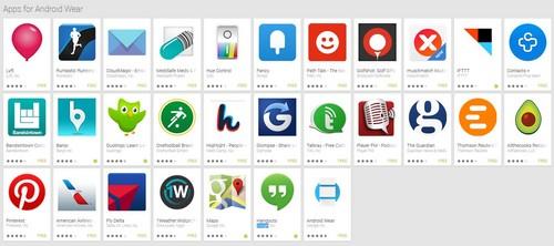 Android Wear débarque sur Google Play