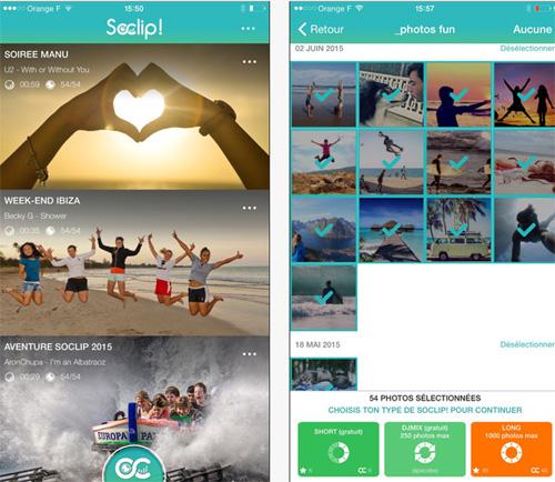 Animez vos photos de vacances avec une vidéo et de la musique