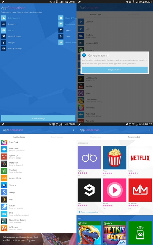 Microsoft lance une application Android pour passer à Windows