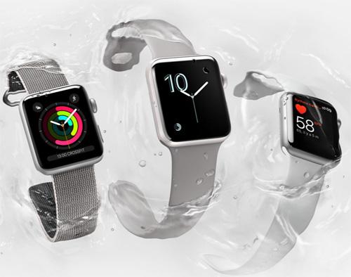 Apple lance son Apple Watch Series 2 résistante à l'eau
