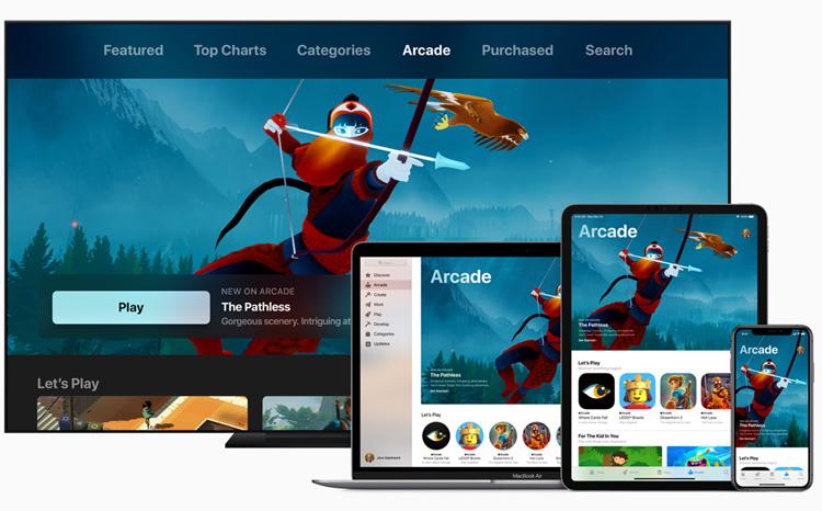 Apple Arcade : un service d'abonnement aux jeux vidéo pour appareils mobiles, ordinateurs et TV