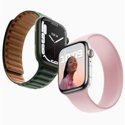 Apple dévoile l'Apple Watch Series 7 dotée d'un écran plus grand