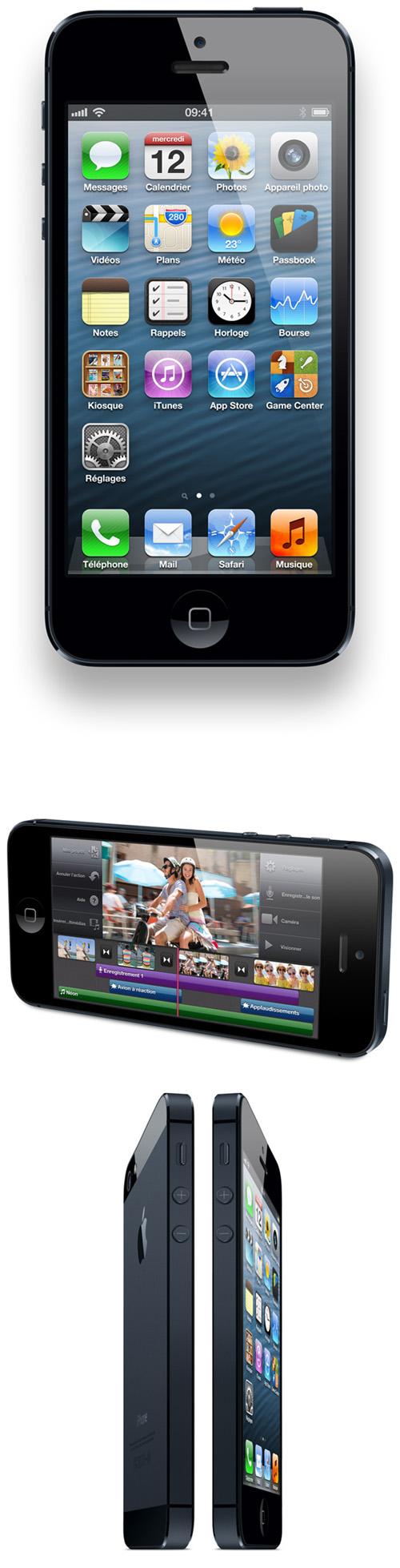 Apple dévoile l'iPhone 5 qui sera commercialisé le 21 septembre en France