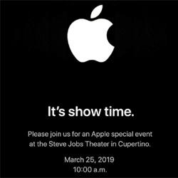 Apple devrait annoncer un service de vidéo en streaming lors de sa keynote le 25 mars