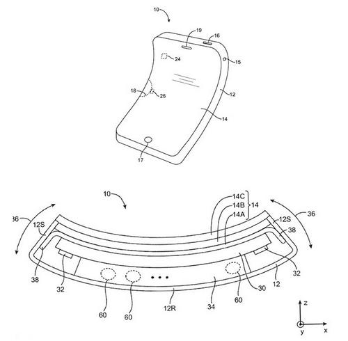 Apple : les prochains iPhones seront-ils  flexibles ?