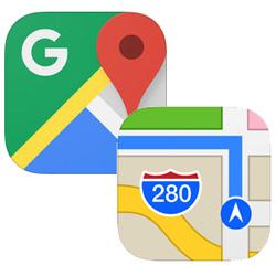 Apple Plans 3 fois plus utilisée que Google Maps