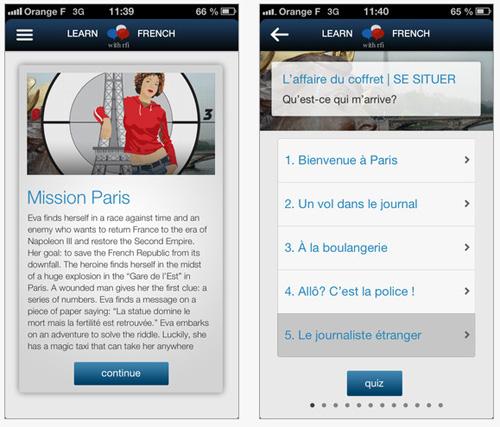 Apprenez le français avec RFI