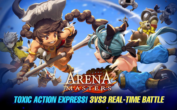 Arena Masters, un jeu de stratégie pour devenir maître de l'arène