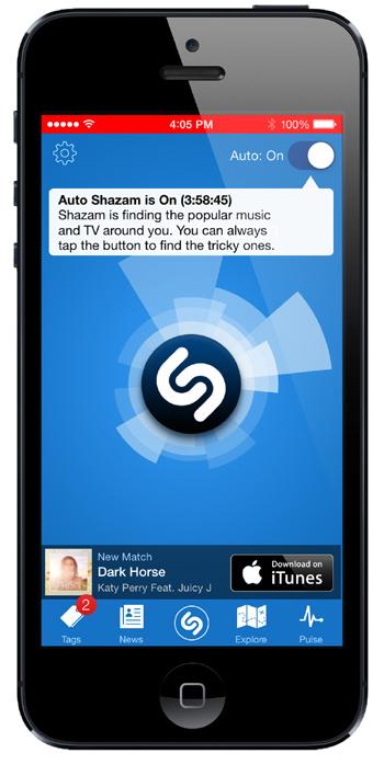 Auto Shazam reconnaît désormais la musique en mode avion