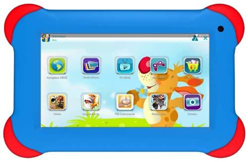 Bigben Interactive lance sa première tablette de 7 pouces pour les enfants