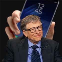 Bill Gates préfère les smartphones Android aux iPhone