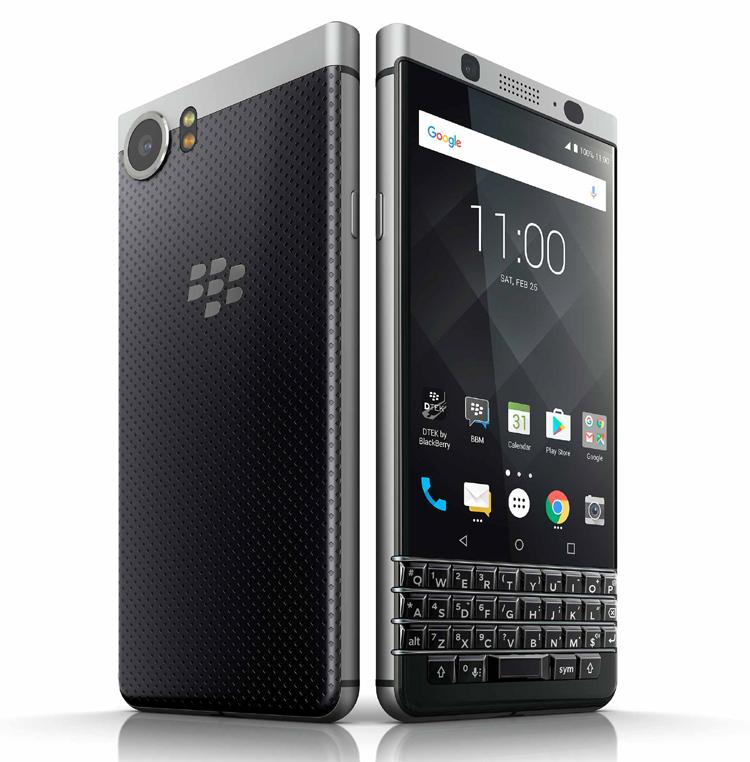 La marque Blackberry fait son retour avec le KEYone