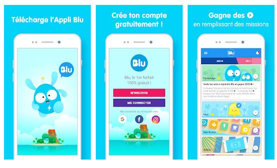 Blu, un forfait mobile 100% gratuit