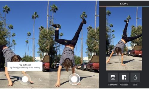 Instagram lance Boomerang, une application pour transformer des photos en image animée