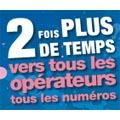 Bouygues Télécom double le temps de communication vers tous les numéros