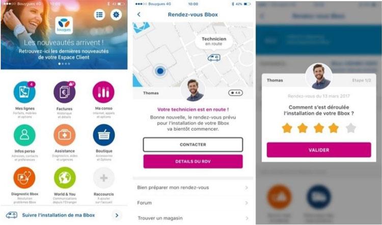 Bouygues Telecom lance un service de géolocalisation et de notation de ses techniciens