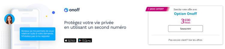 Bouygues Telecom lance l'option Onoff pour profiter d'un second numéro sans changer de téléphone