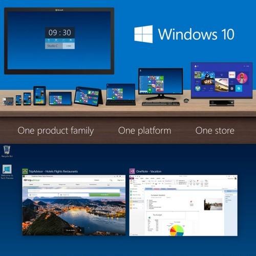 Build 9860, la première mise à jour importante de Windows 10