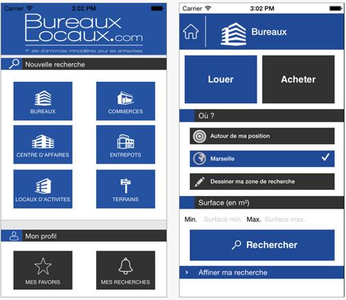 BureauxLocaux.com lance son application sur mobile et tablette