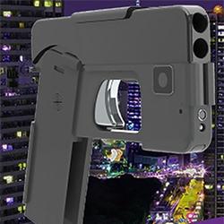 L'arme qui ressemble à un téléphone