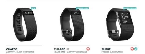 Charge, Charge HR et Surge : les nouveaux appareils connectés de Fitbit