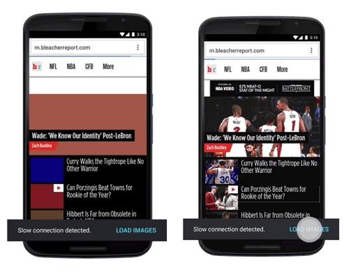 Chrome sur Android veut réduire la consommation data de 70 %