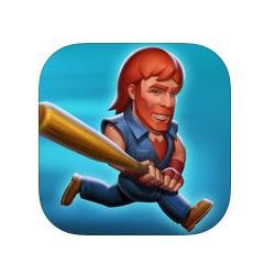CHUCK NORRIS annonce la sortie de son jeu mobile NONSTOP CHUCK NORRIS