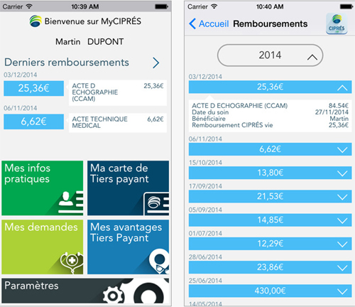 Ciprés Assurances lance son application mobile MyCIPRÉS