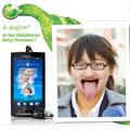 """Colle ton smile"" sur Facebook avec Sony Ericsson"