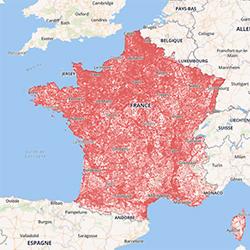 Couverture mobile : Bouygues Telecom, Free, Orange et SFR ont déposé leurs dossiers de candidature auprès de l'Arcep