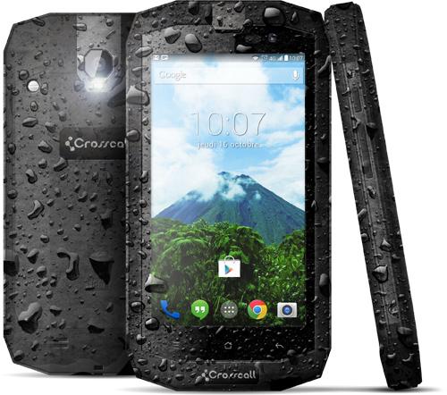 Crosscall TREKKER-X1 : un smartphone tout terrain 4G