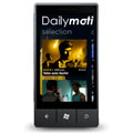 Dailymotion lance son application sur Windows Phone 7