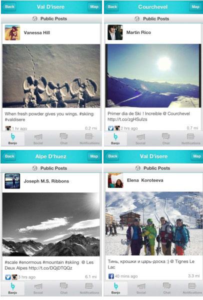 Découvrez ce qui se passe en temps réel dans les stations de ski