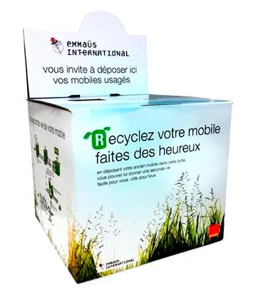 Orange a recyclé 5 millions de mobiles en France depuis 2010