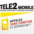 Des appels désormais illimités tous les dimanches chez Tele2 Mobile